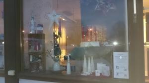 Julskyltfönster
